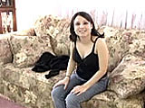 Cristal is a petite girl at 5 tall.  This is her casting couch scene.  She just talks about herself and strips down to show off her goodies.