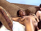 In this amateur group scene, Loagn is with Lucky while Charm is with Madalyn.  The girls lick pussy and the geek gets a blowjob & fucks Lucky until blowing his load on her ass.