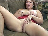 Liisa is a large amateur that loves to play with her pussy.  She kicks back on the couch and diddles herself and tastes her juices until she gets off and is all relaxed.