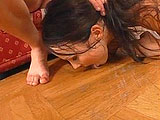 "Julia is a sexy Czech girl getting herself all cleaned up for her costar.  She lives by the motto , ""Check yourself, before you wreck yourself"".   Julia cleans out her fuck holes and then her man dives in to inspect them with his tongue and fingers.  She takes his cock deep down her throat and h"