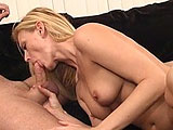 Darryl Hannah dusts the cobwebs off and plays with her pussy to kick things off in this scene.  This tramp has been around the block a few times and knows how to get a guy off.  She licks his asshole and sucks out a load of cum in to her mouth.  She's not done in this biz just yet.