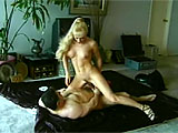 This scene stars Elena.  This blonde beauty comes from behind the iron curtain, and makes up for her somewhat bitchy attitude and hatred of America with her ability to suck and ride cock.  Watch her work that dick and take its load to the tongue.