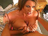 A curvy mouth slut with huge natural tits has one of the loosest throats available. This chick takes her costar's hard cock so deep and barely gags on it. She's got plenty of lube and energy to open wide and wrap her lips and tongue around this dude's throbbing shaft. After repeatedly burying