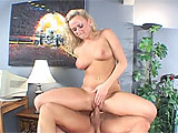 Vanessa Michaels is a petite blonde with big tits.  This dirty little whore gets her pussy pounded hard and loves every inch of it.  She fishhooks her own mouth, waiting for a load of cum to land on her tongue.