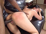 Yumi is at home with the neighbor while her husband is at work.  She wants to see if she can compete with the hot, young ass that the neighbor normally parties with, and starts rubbing his cock.  Yumi takes that cock in her mouth and gets her shaved pussy pounded hard by this stud.  Yumi is rewarded