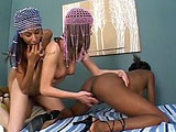 Capri, Mini Pipes, and Mya Mason hook up for a lesbian threeway.  Lot's of pussy eating and moaning in the clip.