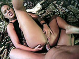 Inari, a hot blonde, is bobbing up and down on a big fat cock. After her sloppy BJ, she gets a thorough anal fucking before swallowing down a big load.